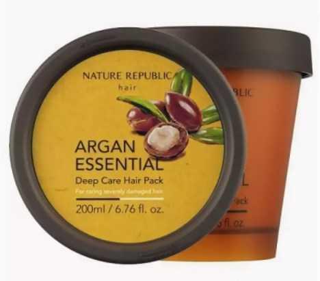 Argan essential deep care hair mask