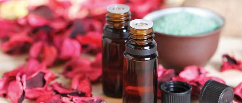 Эфирное масло розового дерева для волос