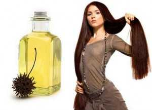 касторовое масло для волос и кефир