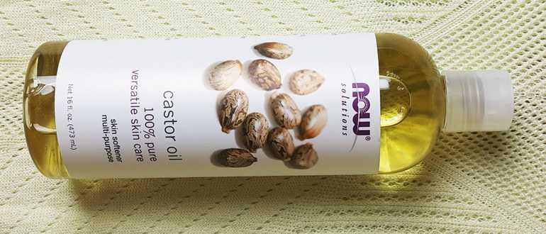 Лечение волос касторовым маслом