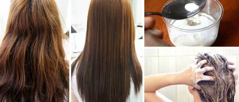 Маска для волос из сметаны