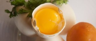 Маска для волос из яиц
