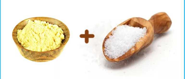 Маска для волос с горчицей и сахаром
