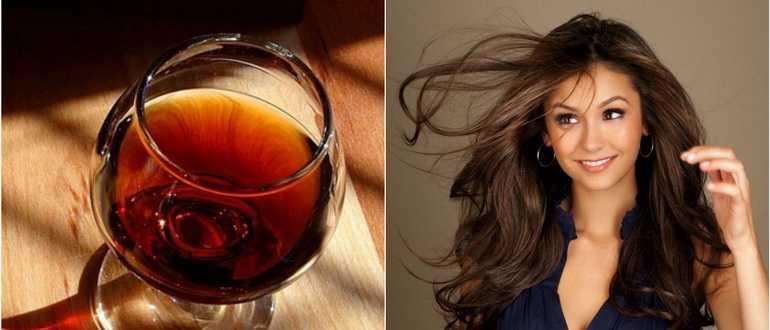 Маска для волос с коньяком и репейным маслом