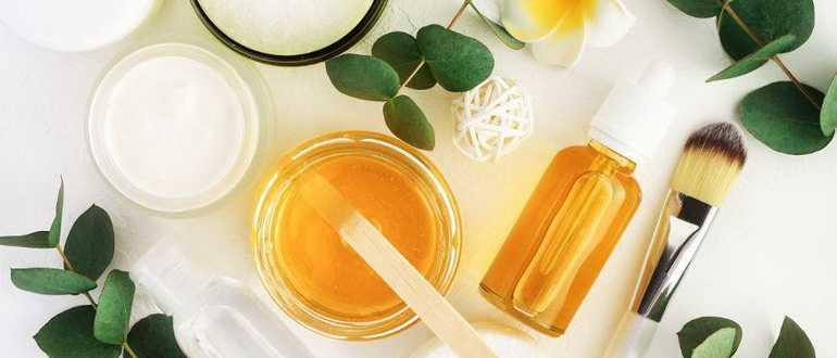Маска для волос с медом и оливковым маслом