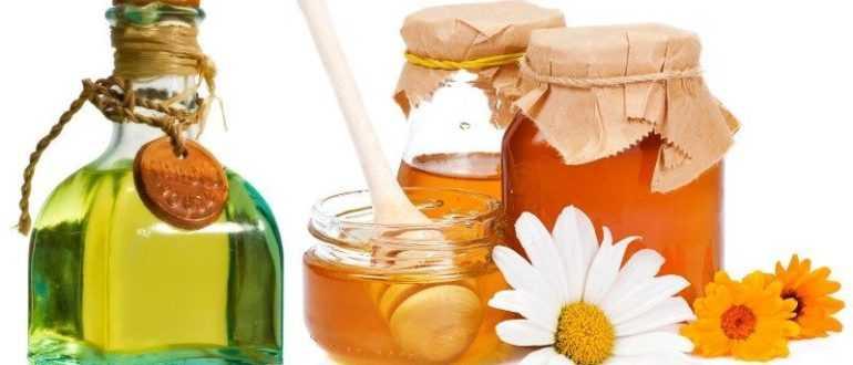 Маска для волос с мёдом и репейным маслом