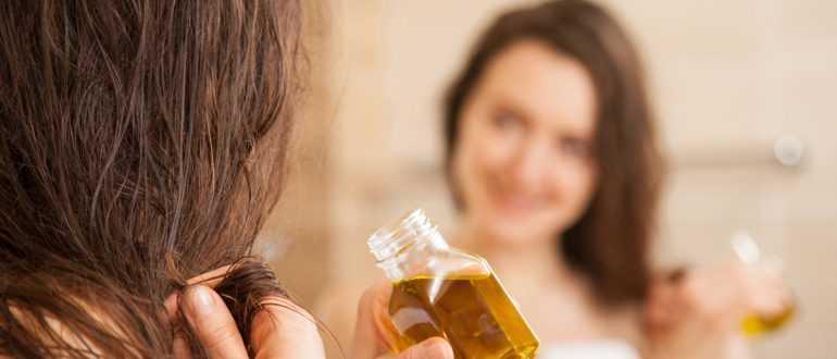 Оливковое масло для секущихся кончиков волос