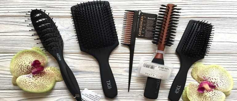 расчески для волос разновидности