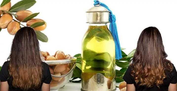 восстановление волос с помощью арганового масла